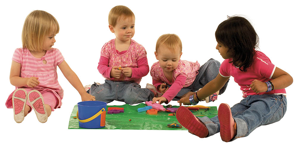 Image of children playing together