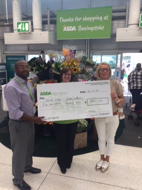 ASDA gives Home-Start West Berkshire a good Christmas!